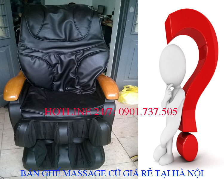 Bán ghế massage cũ