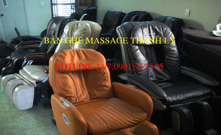 Bán Ghế Massage Thanh Lý