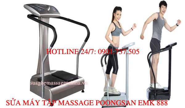 Sửa máy massage Poongsan EMK 888