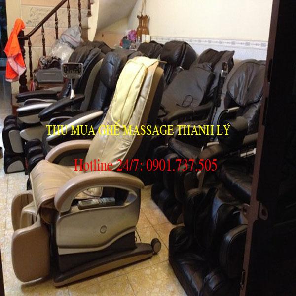 đa dạng mẫu mã ghế massage cũ