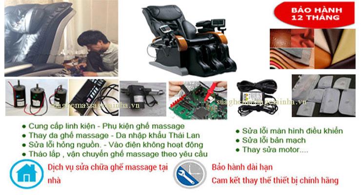 cung cấp các dịch vụ sửa chữa ghế massage tại Hải Phòng tốt nhất