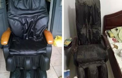 thay da ghế massage tại hải phòng giá rẻ