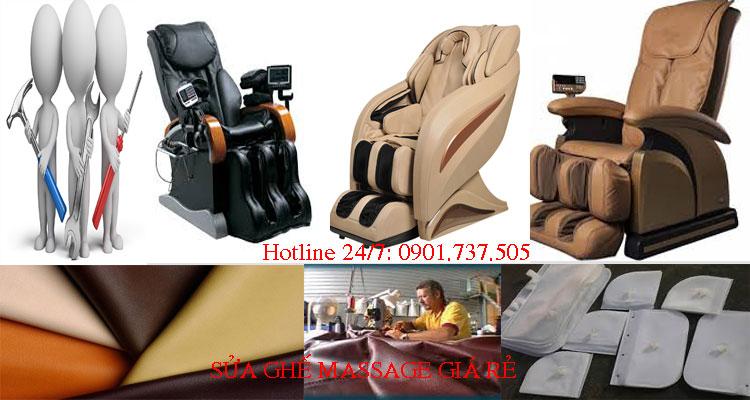 sửa chữa ghế massage tại nhà