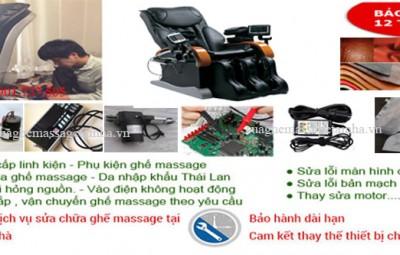 sửa chữa ghế massage