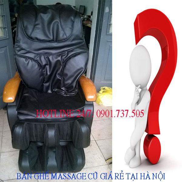 bán ghế massage đã qua sử dụng giá rẻ tại hà nội