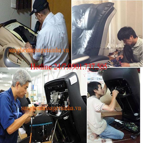 sửa chữa ghế massage tại phường điện biên